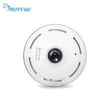 Amorvue Wi fi Câmera IP de 360 Graus Lente Fisheye Panorâmica Câmera Dome 960P CCTV Night Vision TF Suporte para Câmera de Segurança cartão