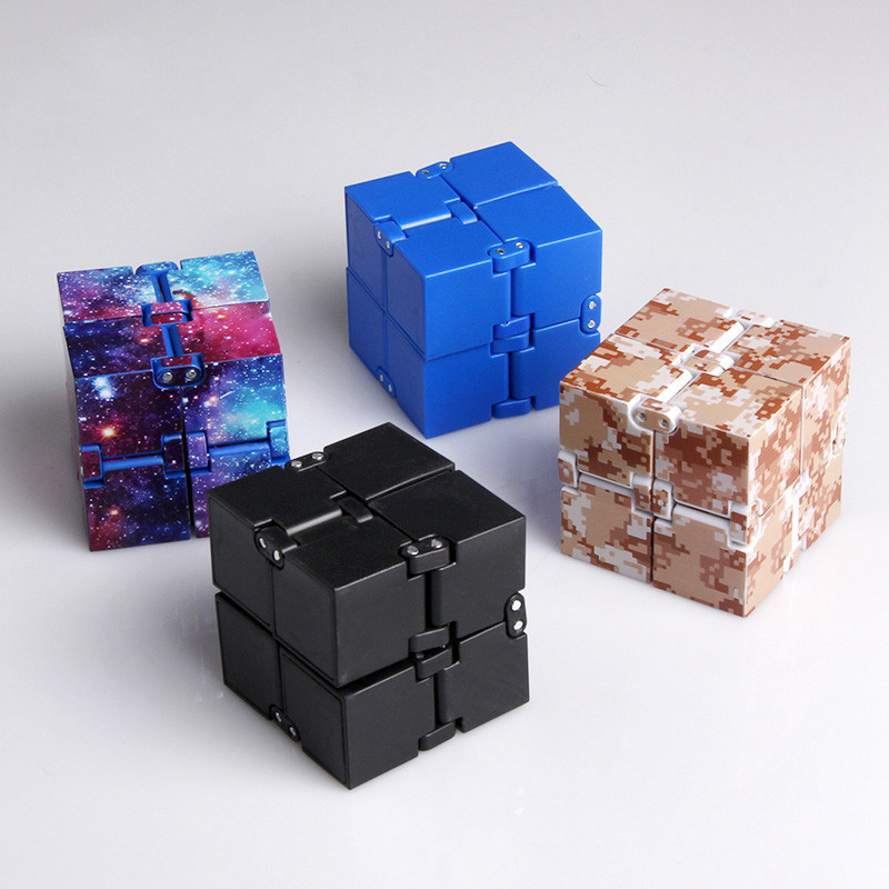 Infinity Cube Mini Finger Toy Anxiety Stress Relief Blocks Children Kids Funny Toys Best Birthday Gift Magic Cube Games For Kids