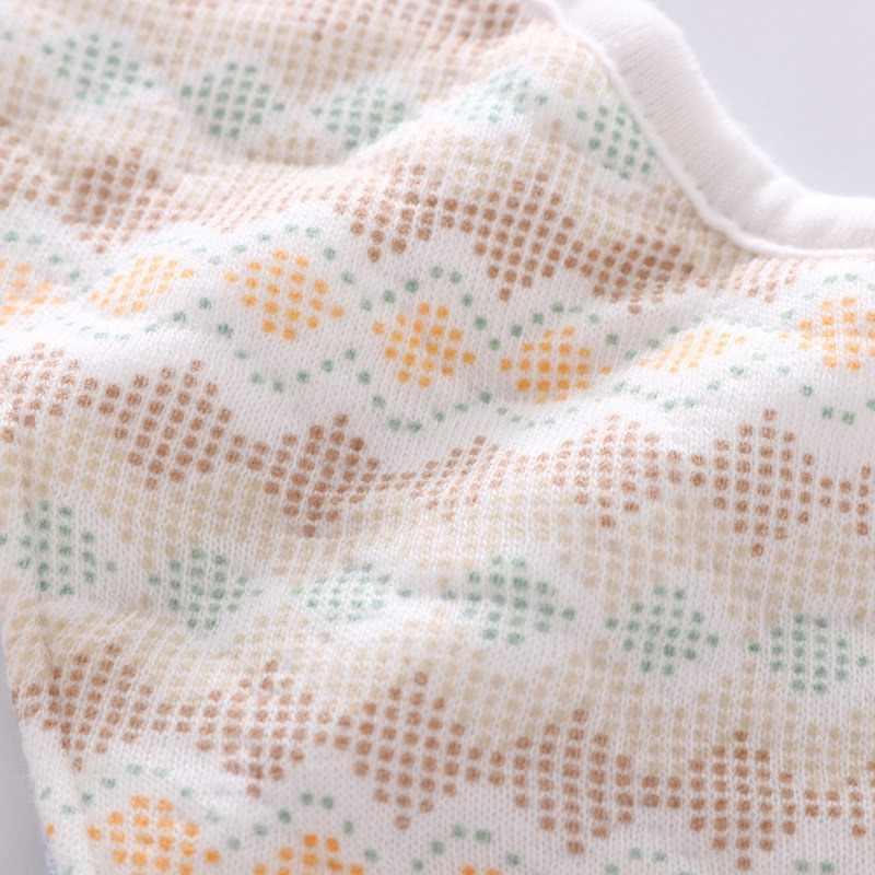 360 מעלות מסתובב שלוש קומות כותנה תינוקות תינוק ליקוק חמוד שונים מודפס עמיד למים רך נוח מגבת רוק תינוק סינר
