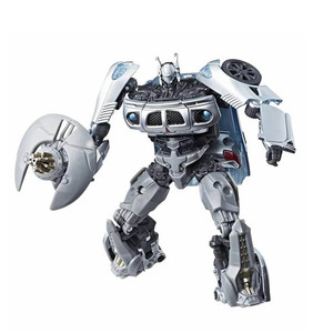 Image 4 - 11cm Transformers Jazz Studio Series Action Figure SS10 PVC Transformation Toys Robot Cars Autobot Christmas Gifts for Children