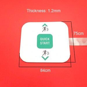 Image 2 - Bouton de démarrage rapide pour tapis de course precor 842i, pièces pour clavier UHK 842i