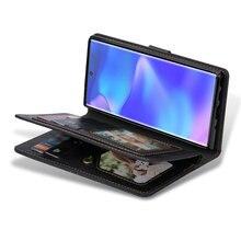 Multifunctionกระเป๋าสตางค์EtuiสำหรับSamsung Note 20 Ultra S 20 S10 S10e S9 S8 S20 PlusสำหรับSamsung galaxyหมายเหตุ10 Coque