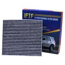 Активированный салонный воздушный фильтр CF10285 87139 02090 для Toyota/Lexus/Scion/Subaru Premium от бактерий пыли вирусов пыльца газов