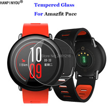 For Xiaomi Huami Amazfit Pace Sports SmartWatch Tempered Glass 9H 2 5D Premium Screen Protector Film