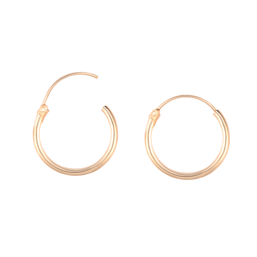 3 Pair/Set Fashion Women Girl Simple Round Circle Small Ear Stud Earring Punk Hip-hop Earrings Jewelry 3 Size 2