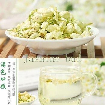 Camellia Jasmine Tea Jasmine Tea Jasmine Bud Super Luzhou-fragrant Bud Dry Flowers 250g Package Mail