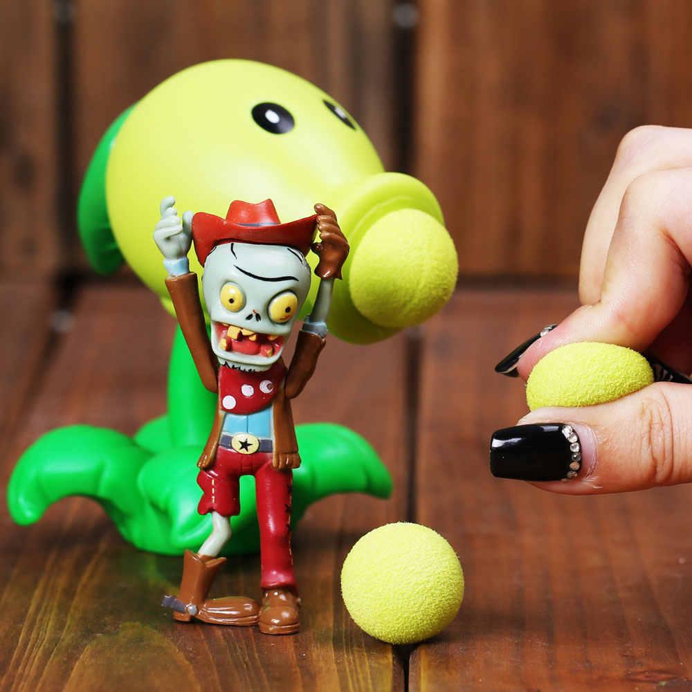 28 Stijlen Plants Vs Zombies Action Figure Speelgoed Voor Kinderen Pvz Peashooter Erwt Shooter Rode Chilipeper Launch Planten Figuur Model speelgoed