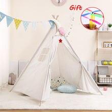 135 м большая детская палатка wigwam портативная индийская tipi