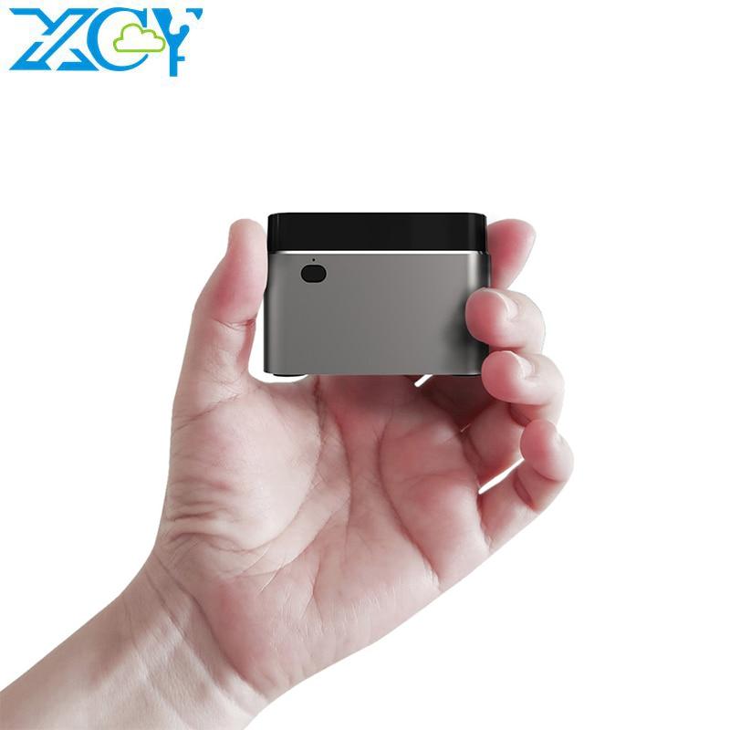 XCY Mini PC Intel Celeron N4100 Quad-Core 8GB LPDDR4 128GB SSD 2,4G/5,0G WiFi Bluetooth 4,2 60Hz 4K computadora Windows 10
