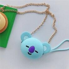 Koala Headphone Case Data Line/ Key / Money/ Card Holder/ Storage Bag 3D cartoon Hard Cartoon Earphone Box