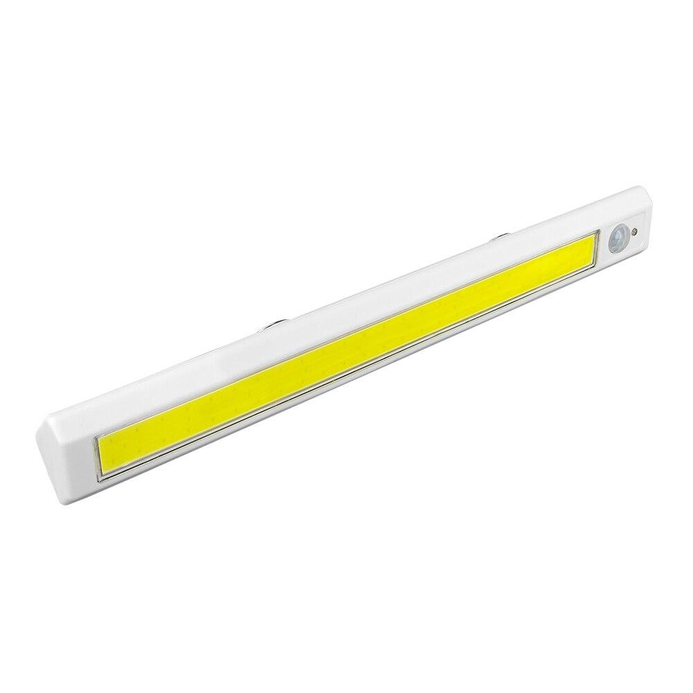 A espiga conduziu a luz do armário do armário do sensor de pir power por 4 * aa bateria ímã forte conduziu a luz da parede da noite para o corredor