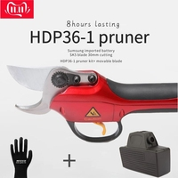 HDP36 1 electric pruner lastest version spare parts 9 pin spare cable, 9 pin battery, blades, limit switch, charger, pruner body