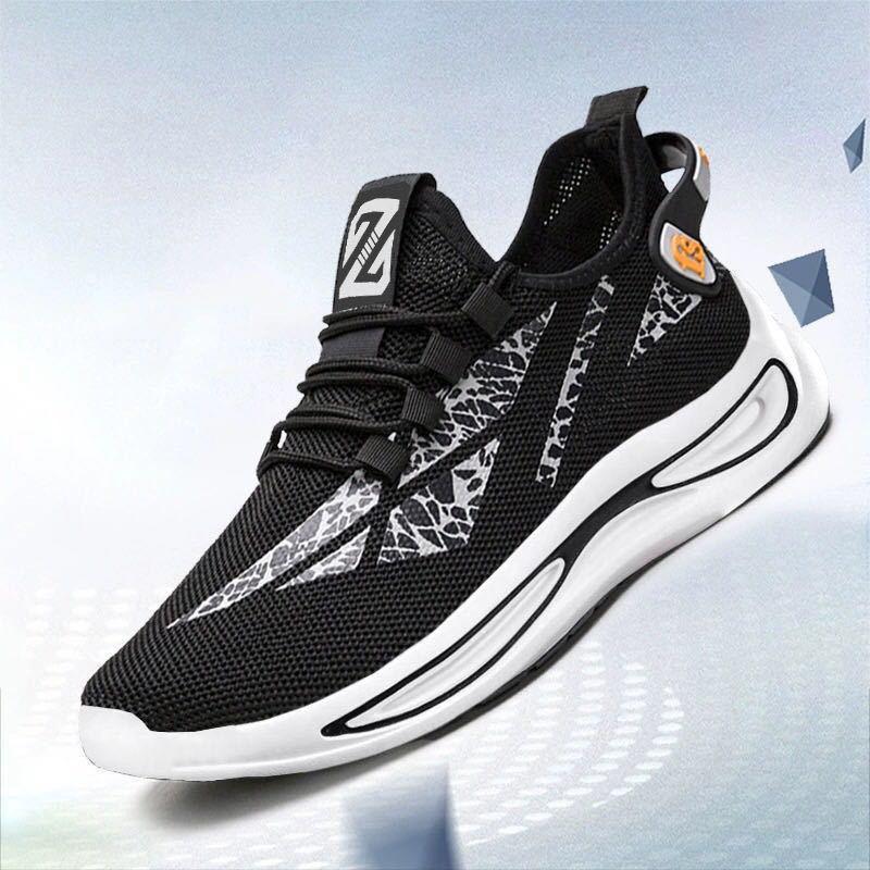 Men's Breathable Shoes  Non-slip Low-top Running Shoes Men  4