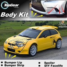 Skirt Bumper Satria/neo Spoiler Topgear-Friends Front Lip Deflector for Car-view-tuning/body-kit/Strip
