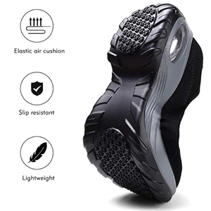 Image 4 - Fashion Women Walking Shoes Super Soft Height Increase Travel Outdoor Shoes Cmfortable Lightweight Breathable