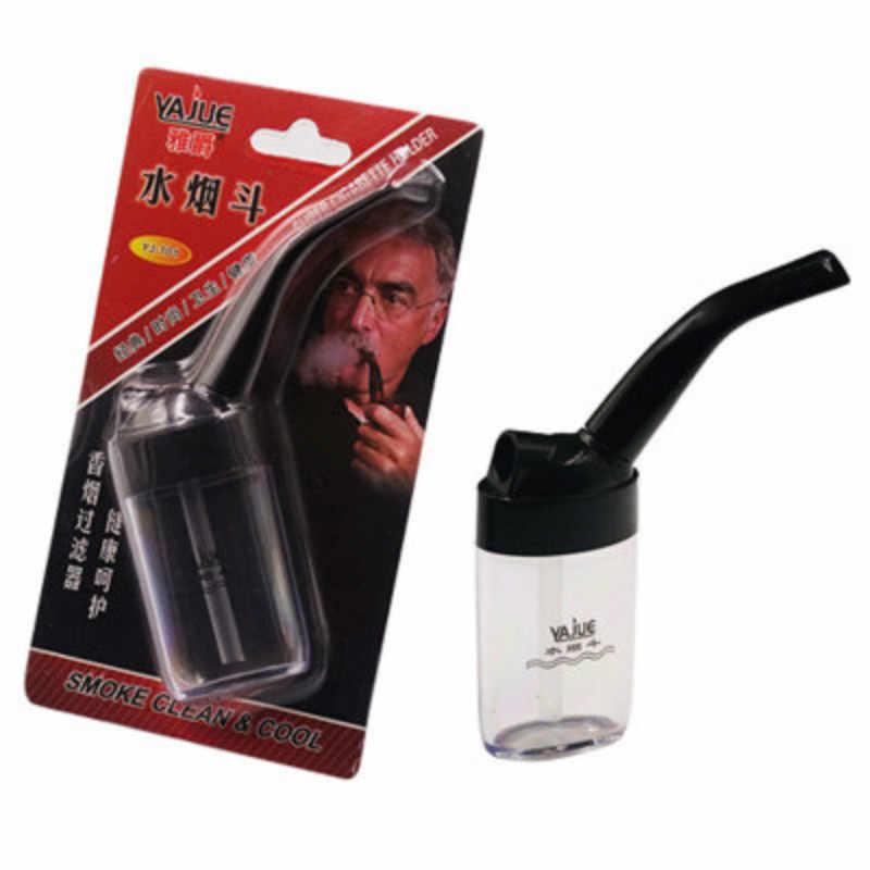 1 adet viraj boru sigara aksesuarları filtre gıda sınıfı tutucu ağızlık filtrasyon temizleme tutucu hediyeler erkekler için