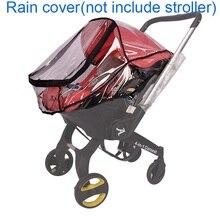 Foofoo Auto Sitz Regenmantel Baby Kinderwagen Zubehör Regen Abdeckung Wasserdichte Abdeckung für Doona Kinderwagen