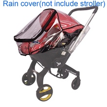 Foofoo Car Seat Raincoat Baby Stroller Accessories Rain Cover Waterproof Cover for Doona Stroller