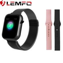 LEMFO 2019 뜨거운 판매 똑똑한 시계 심박수 혈압 감시자 똑똑한 시계 여자 Smartwatch 남자 4 Apple IOS 인조 인간 전화를 위해