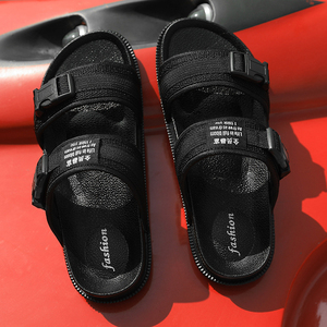 Image 5 - 2019 Summer Man Sandals Women Sandals Men Light Shoes Black Yellow Fashion Leisure Breathable Hot Sale Lover Slippers Sneakers