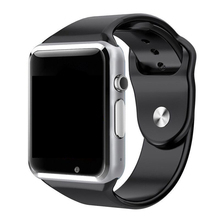 A1 Smart Watch Sport Wristwatch with Camera Touch Screen Support SIM TF Card Blu