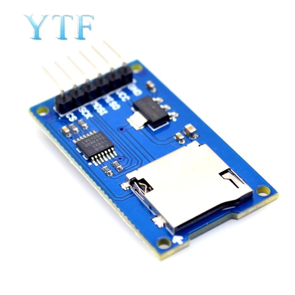 Micro SD Card Adapter Module SPI Interface Mini TF Card Reader For Arduino
