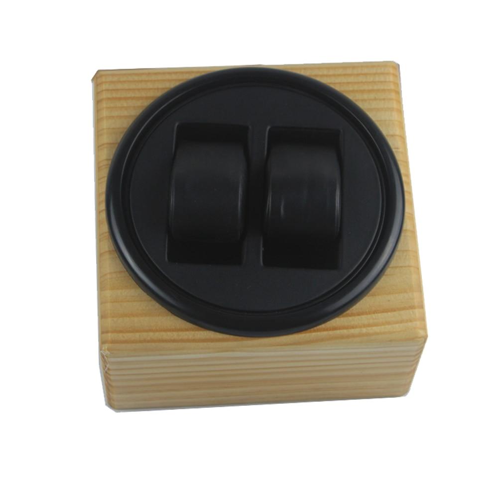 Montre remontoir boîte en bois automatique montre remontoir présentoir pour montres mechinal