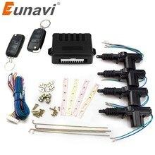 Eunavi – actionneur de verrouillage universel de porte de voiture, moteur 12v (Pack de 4), télécommande de voiture, système d'entrée sans clé