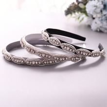 TRiXY S102-FG Women Hair Hoop Thin Wedding Hair Accessories Bridal Headpiece Baroque Headbands Headpiece Wedding Hair Jewelry