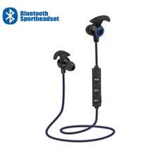 Inalámbrica Bluetooth auriculares de ruido activa cancelar deportes auriculares AX 02 auriculares en la oreja auriculares con micrófono para Samsung Huawei