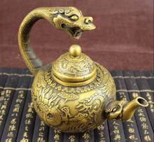 ZSR 802+++++The new collection of antique bronze ornaments gifts miscellaneous old objects leading pot(China)