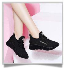 Zapatillas Ligeras informales con suela blanda antideslizante para mujer, deportivas Transpirables de primavera y verano