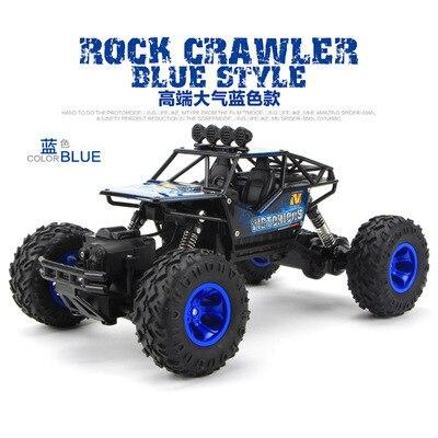 1/16 1/12 RC voiture 4WD escalade voiture 4x4 Double moteurs conduire Bigfoot télécommande voiture modèle tout-terrain véhicule Dirt Cars garçons enfants - 4