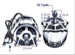 1800W 60V 3200RPM bürstenlosen motor und Yuyang König 72V 80A Controller YKZ7280JA mit bluetooth