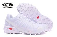 купить Salomon SpeedCROSS 3 Men Sneakers Red Man Breathable Flats Fencing Shoes Salomon Speed Cross 3 Mens Sneaker дешево