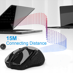 Image 2 - TeckNet Optical Wireless Mouse Computer Bluetooth Mouse 2600DPI 2.4G Wireless Bluetooth Mouse Ergonomic Mice for Laptop/Tablet