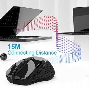 Image 2 - TeckNet Quang Chuột Không Dây Máy Tính Bluetooth Chuột 2600DPI 2.4G Không Dây Bluetooth Thiết Chuột Cho Laptop/Máy Tính Bảng