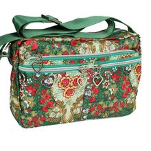 floral crossbody bags for women small messenger bag waterproof nylon ladies shoulder