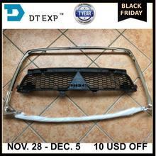 2010-2012 Задняя Лицензионная доска airtrek 6400c703 хромированная решетка для outlander ex Бампер сетка вверх вниз 6402a198 6402a199 крышка подушки безопасности