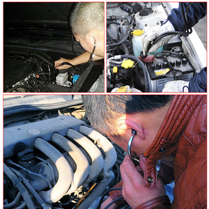 Image 4 - 1 Pcs 자동차 청진기 자동 역학 엔진 실린더 청진기 청력 도구 자동차 엔진 테스터 진단 도구