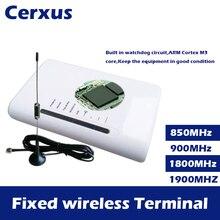 Vaste Draadloze Terminal GSM 850/900/1800/1900MHz Draadloze Toegang Platform pstn Dialer DTMF voor telefoon vaste lijnen alarm led display
