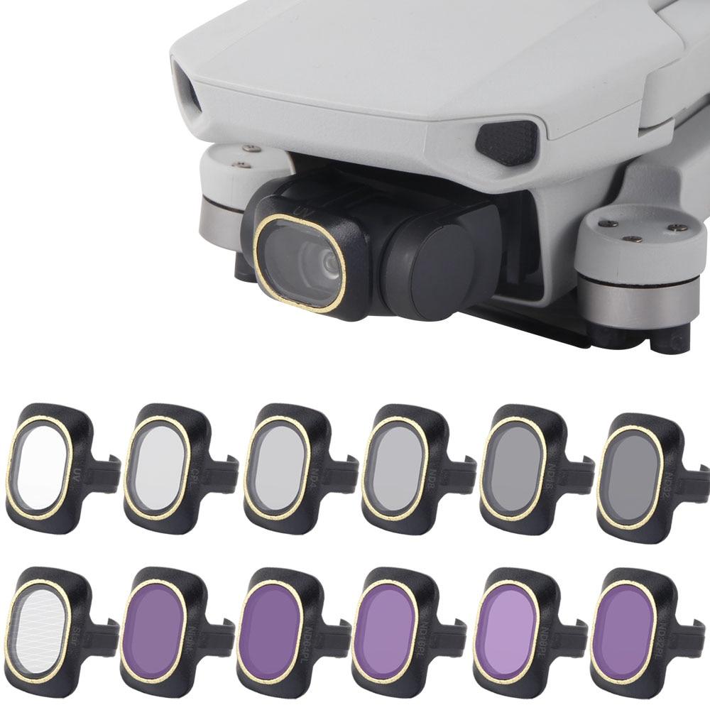 Done Filter For DJI Mavic Mini Filter Neutral Density Polar For DJI Mavic Mini Glass Accessories UV CPL ND NDPL4/8/16/32 Set