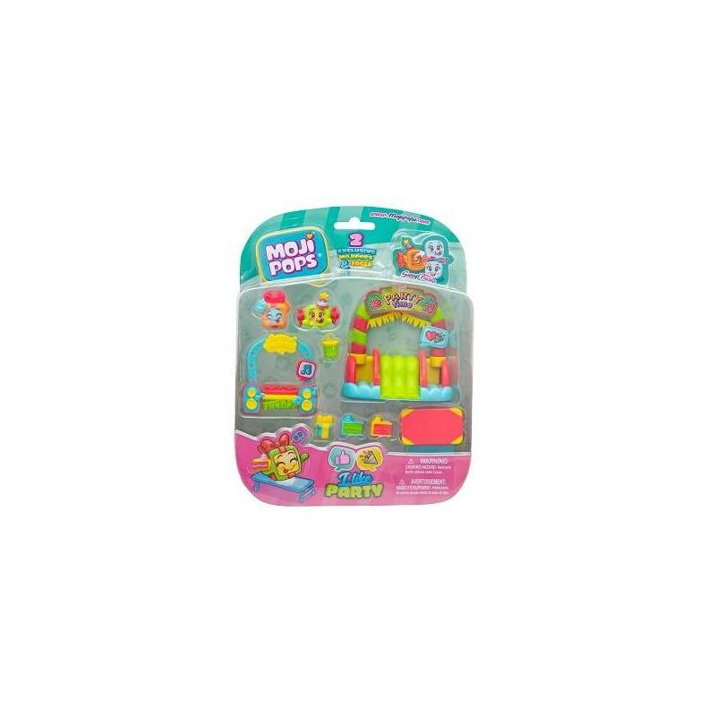 Blister I Like Party: Contains 2 Mojipop Toy Store