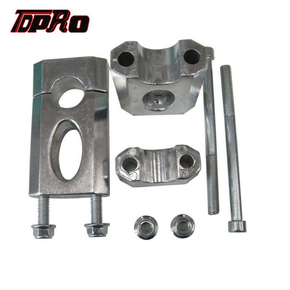 TDPRO 10mm CNC Gear Shifter Shift Lever for Pit Dirt Bike XR CRF 50 70 Black