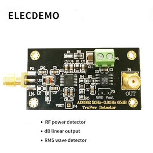 Image 2 - AD8362 Module 3.8GHZ RF Radio Frequency Detector Power Detection RMS detector Linear dB output Function demo board