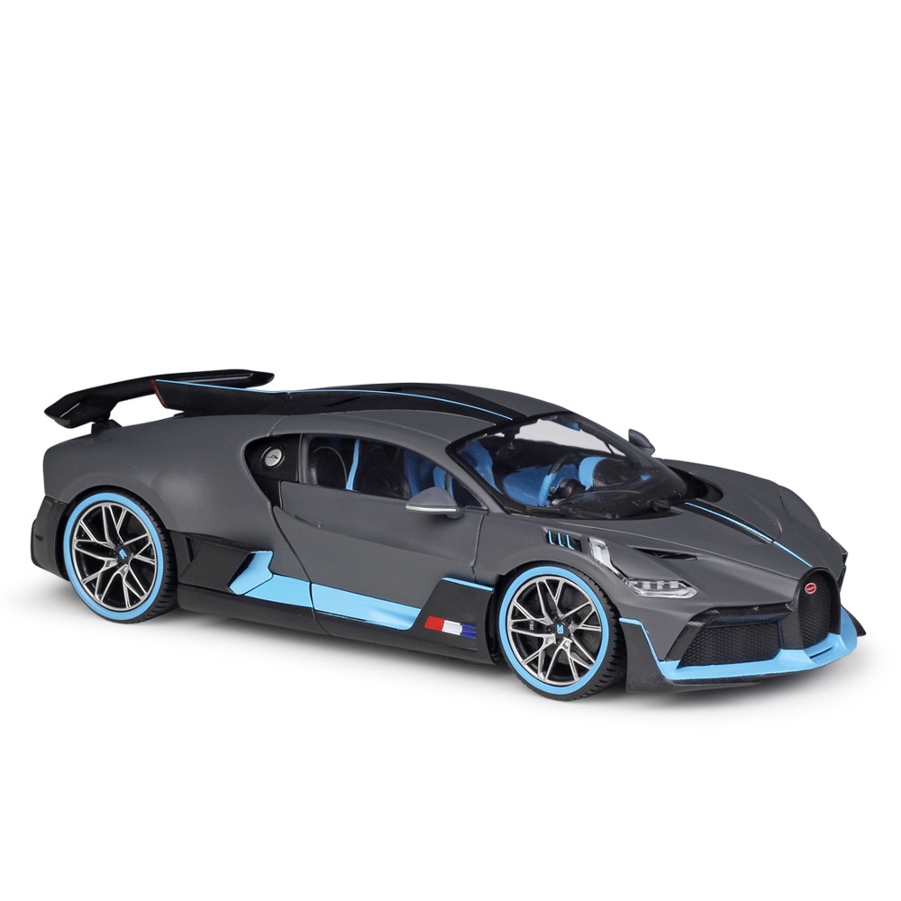 1:18 Bburago Bugatti Divo Super voiture de sport moulé sous pression