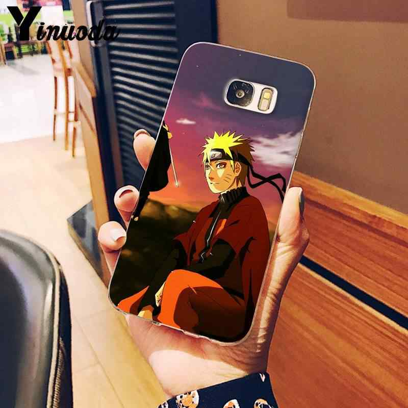 Yinuoda الهوكاجي ناروتو كاكاشي انمي ياباني الجدة Fundas غطاء إطار هاتف محمول لسامسونج نوت 3 4 5 7 8 9 10 برو M10 الهواتف المحمولة