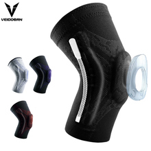 Sleeve-Protector Brace-Springs Basketball Volleyball Knee-Pads Compression Gym Elastic