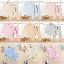 Пижамный комплект для мальчиков и девочек детские пижамы весна