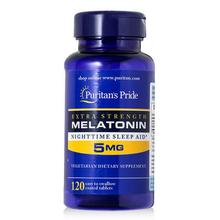 Rapid Release Melatonin 5 mg 120 Count Night Sleep Assistance free shipping
